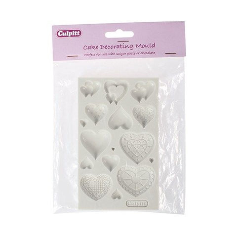 Culpitt Heart Design Silicone Mould