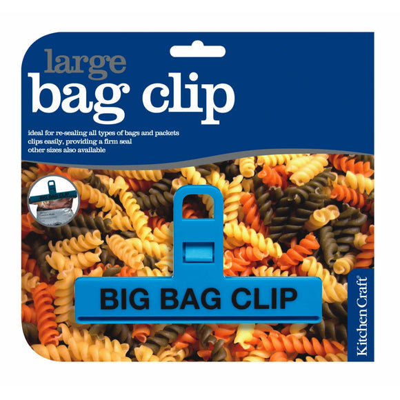 KitchenCraft Large Plastic Bag Clip