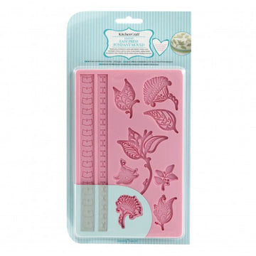 Kithcen Craft Easy Press Fondant Mould- Leaves