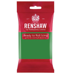 Renshaw Professional Sugar Paste Ready to Roll Icing - Lincoln Green - 250g