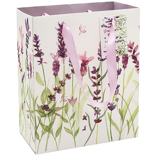 Purple Lavender Gift Bag
