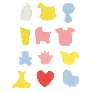 Cake Star Mini Metal Baby Cutters - 12 piece