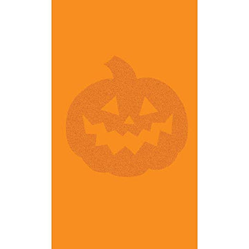Mini Halloween Pumpkin Orange Glittery Treat Bags