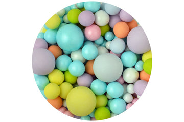 Sprinkletti bubbles multi coloured edible balls