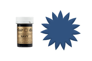 Sugarflair Paste Colours - Spectral Navy Blue - 25g