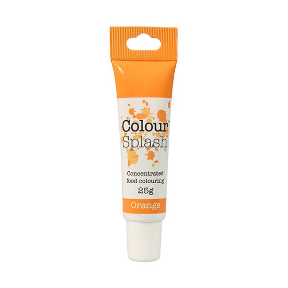 Colour Splash Gel - Orange Food Colouring - 25g