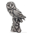Silver Natural World Ornamental Owl