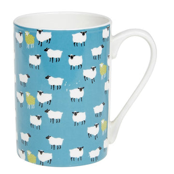 Peony China Sheep Mug