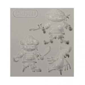 Culpitt Pirates Silicone Mould