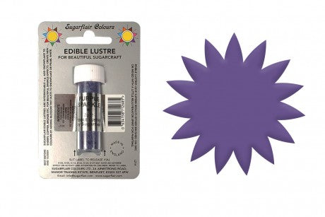 Sugarflair Edible Lustre Food Colour Dust Purple Sparkle
