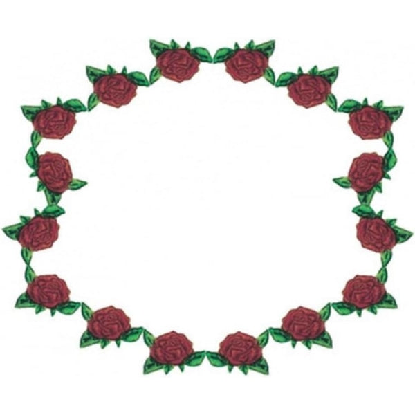 FMM  Ring of Roses icing flower strip cutter