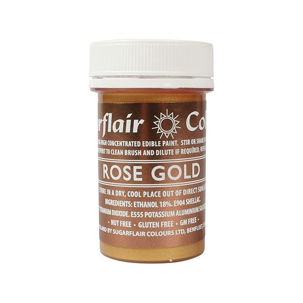 Sugarflair Paint - Rose Gold - 20g
