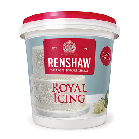 Renshaw Royal Icing White 400g Pot