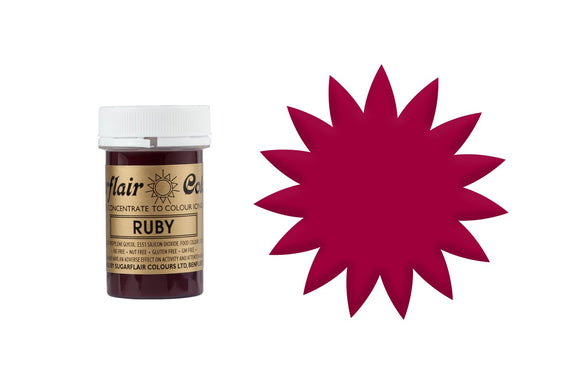 Sugarflair Paste Colours - Spectral Ruby Red - 25g