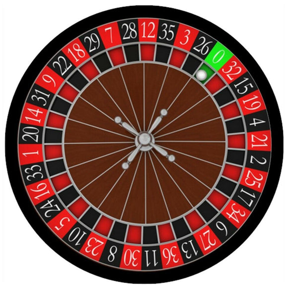 Roulette Casino Game Personalised Edible Cake Topper Round Icing Sheet