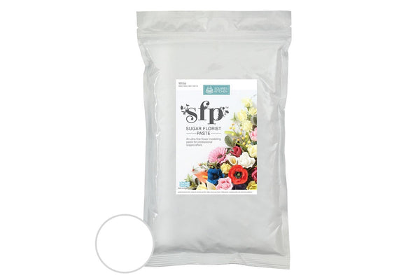 Squires Sugar Florist Paste (SFP Gum Paste) - White - 1kg