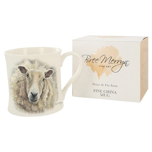 Cute Standing sheep - Sold Singly - WHITE