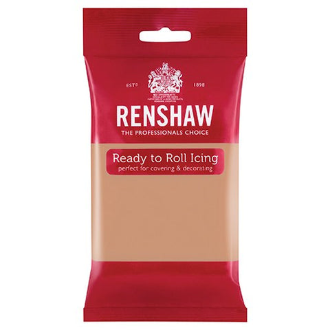 Renshaw Professional Sugar Paste Ready to Roll Icing - Skin Tone / Flesh - 250g
