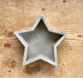 Star Cement Tray / Decorative Feature
