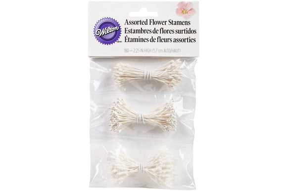 Wilton Flower Stamen Assorted Pack of 180