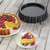Chicago Metallic Non-Stick Mary Ann Flan Cake Pan