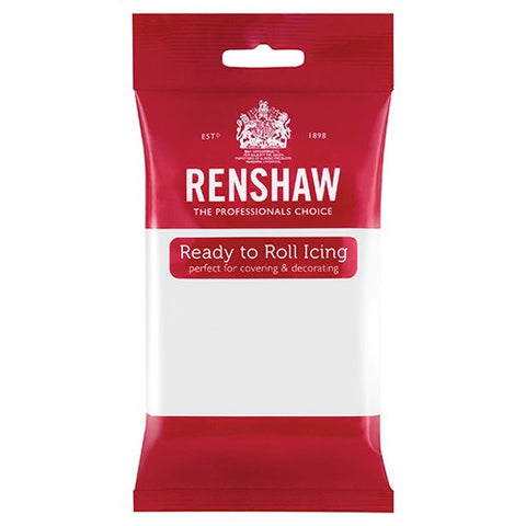 Renshaw Professional Sugar Paste Ready to Roll Icing - White - 250g