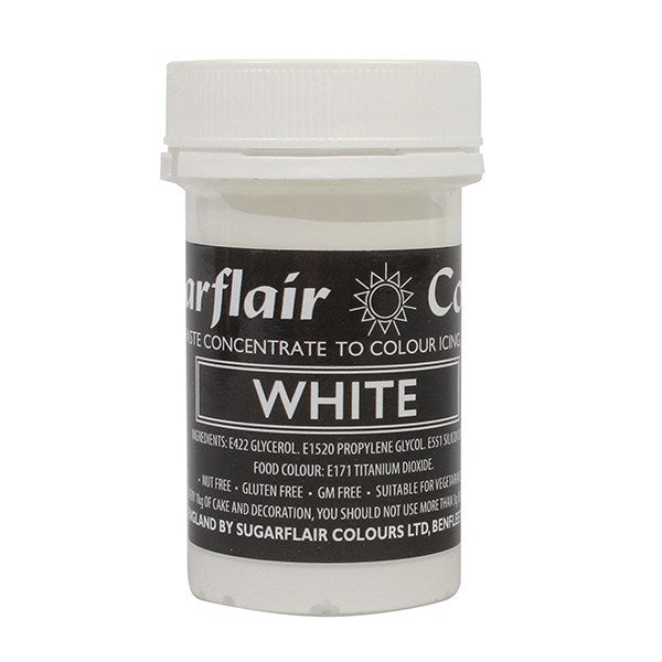 Sugarflair Paste Colours - Spectral White - 25g
