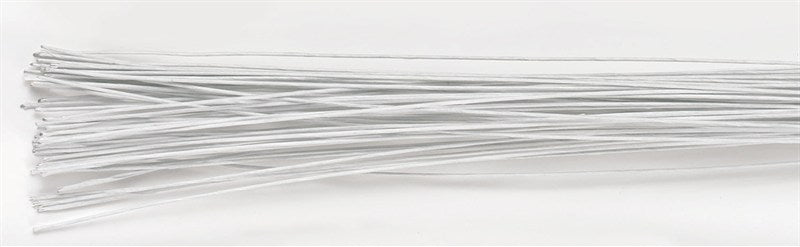 White Floral Sugarcraft Wires - 22g - The Cooks Cupboard Ltd