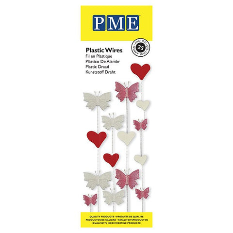 PME Plastic Wires - Pack of 25