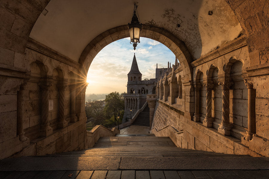 Fisherman's Bastion - Magische Orte - Michael Breitung Open Edition