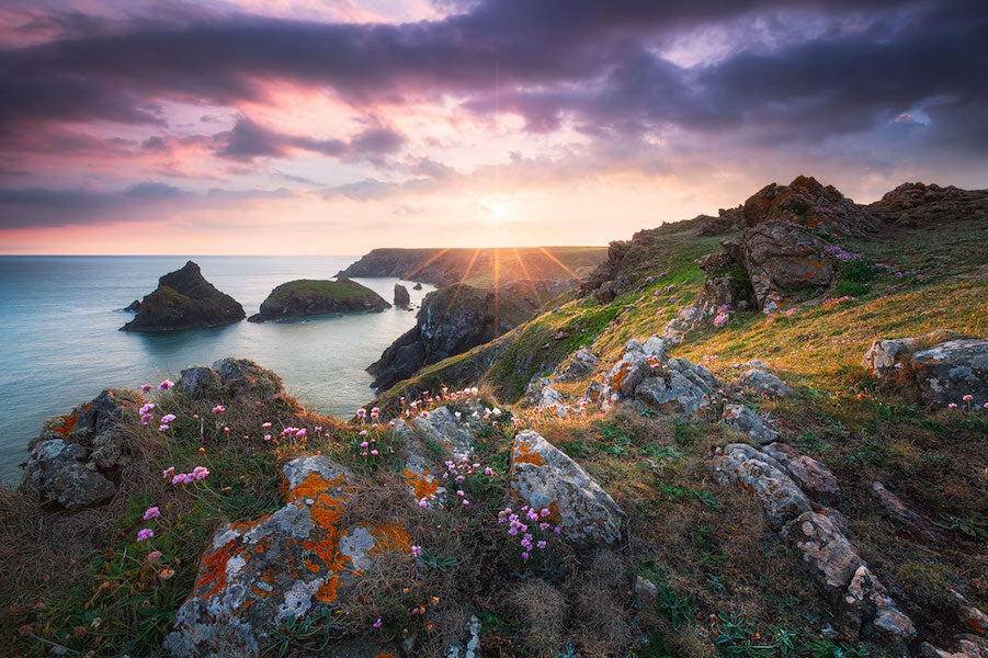 Kynance Cove Sunset - Magische Orte - Michael Breitung