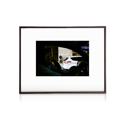 Cab Driver NYC 2 - early work - Bastian Hertel - 24x30