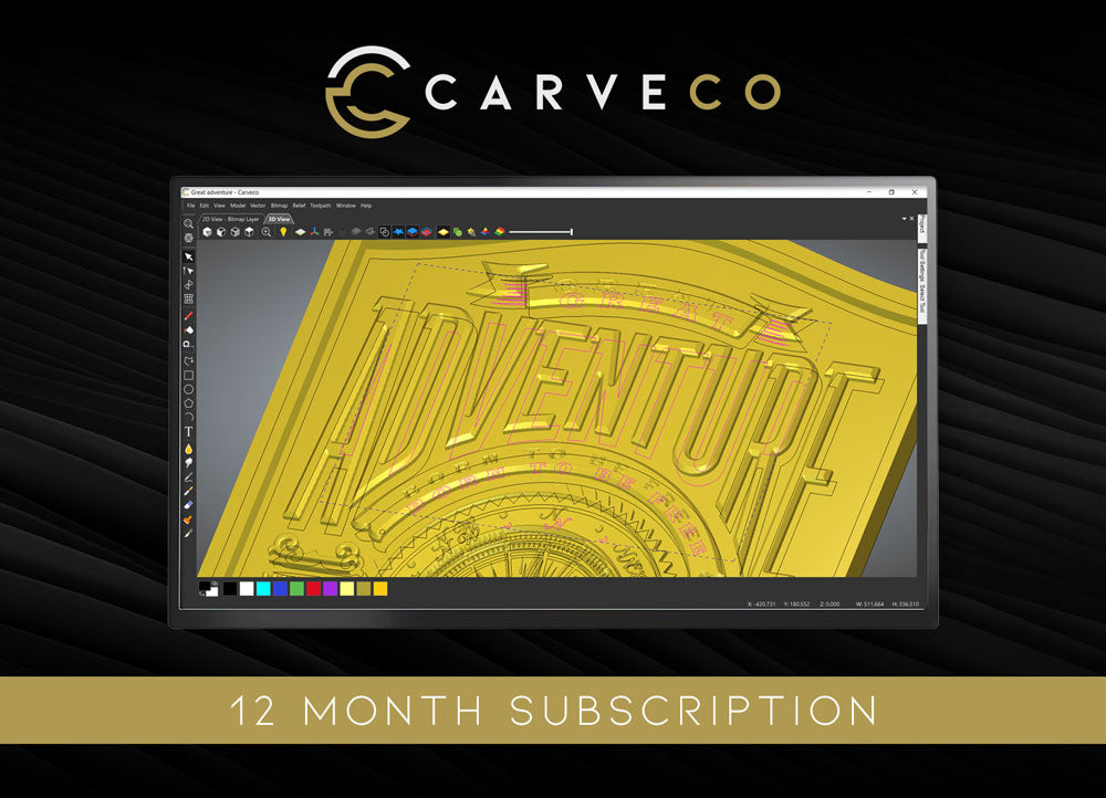Carveco - 12-Month Subscription