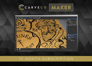 Carveco Maker OEM Subscription (12 months)