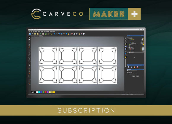 Carveco Maker Plus Monthly Subscription