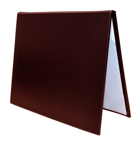 Burgundy Diploma Holders and Certificate Covers