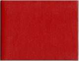 Red Diploma Cover, 8 1/2 x 11 size