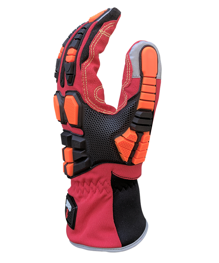 Cestus Deep III Barrier Rescue /& Extrication Glove #1002 Red