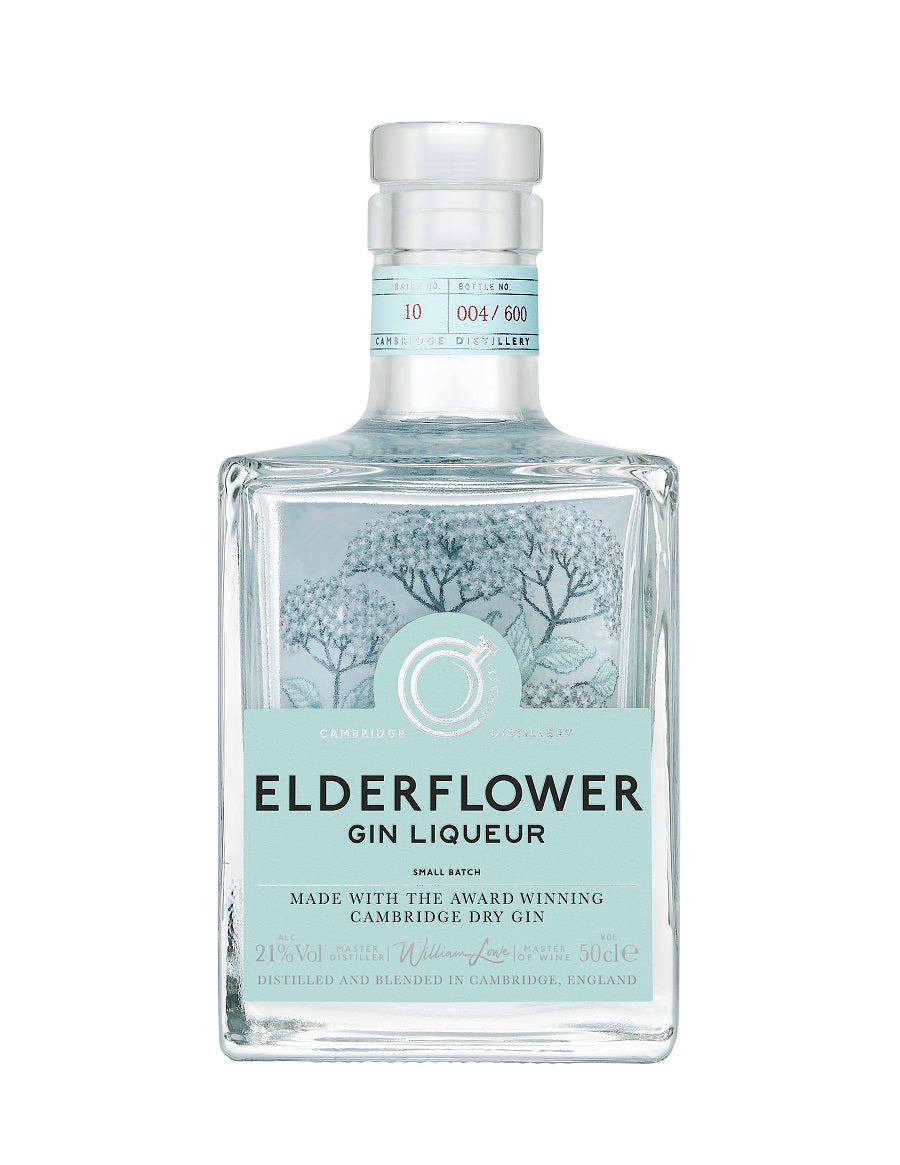 Elderflower Gin Liqueur