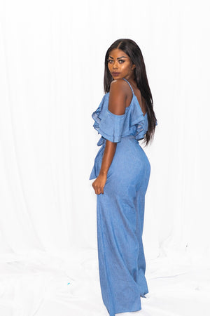 Sasha Denim Jumpsuit