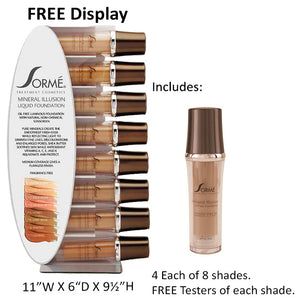 Mineral Illusion Oil Free Liquid Foundation Collection
