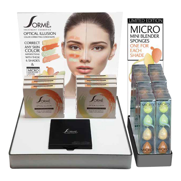 The Optical Illusion, Color Correcting Deluxe Essentials Prepack