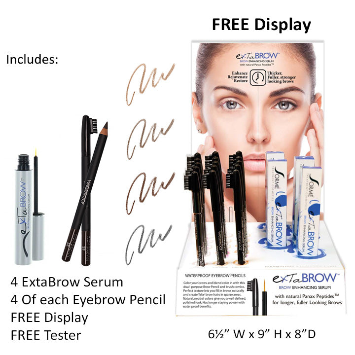 ExtaBrow & Eyebrow Pencil Prepack