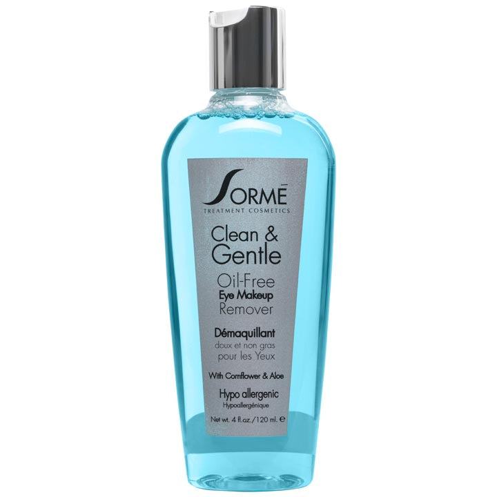 Clean & Gentle Oil-Free Eye Makeup Remover