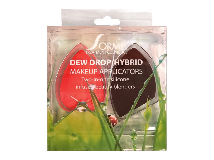 Dew Drop Hybrid Silicone infused blender 2 pk
