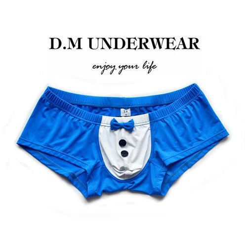 Bow Tie Cute Men's Boxer Briefs