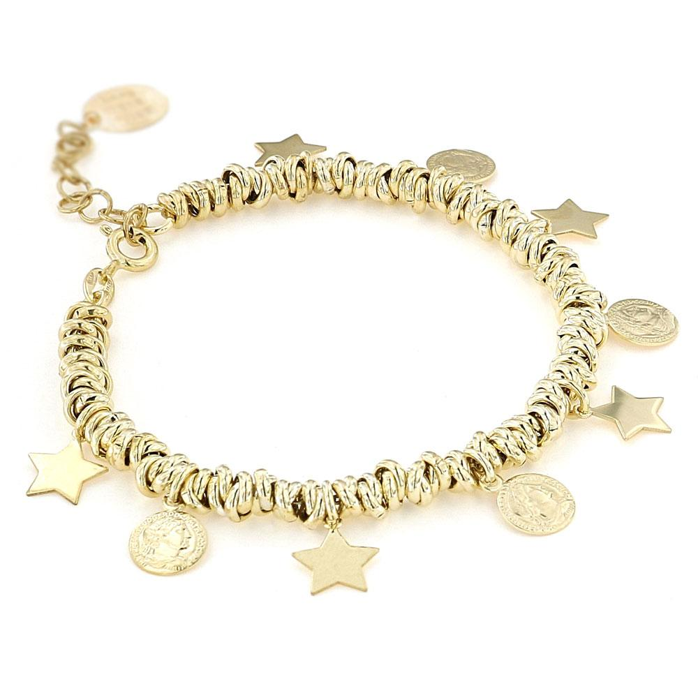 Bracciale Charms Donna in Argento 925