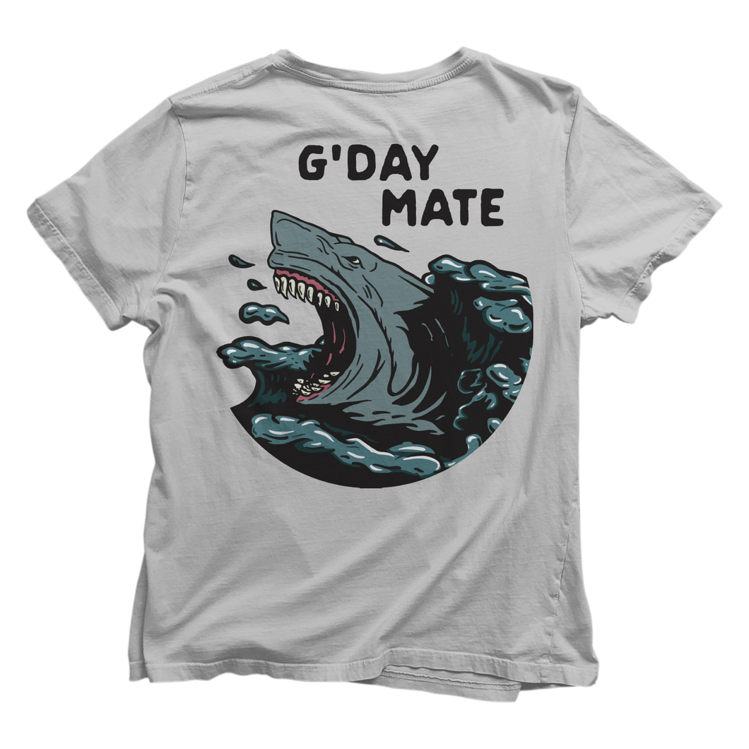 G'DAY MATE T-SHIRT (FRONT & BACK PRINT)