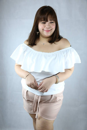 Ruffle 3-Way Blouse