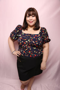 Zippy Pencil Skirt (Plus Size Skirt Singapore)